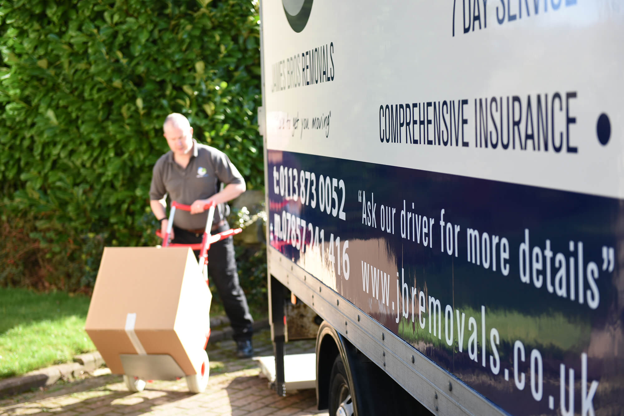 House Removal Company in Cleckheaton